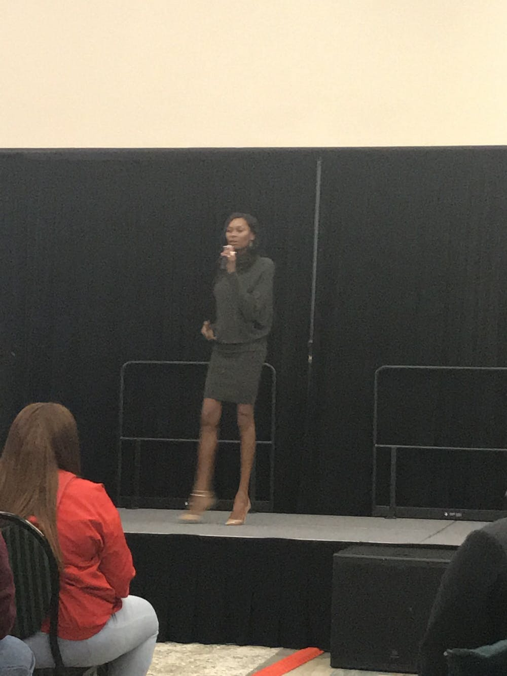 An evening with Dominique Jackson at Eastern Michigan University