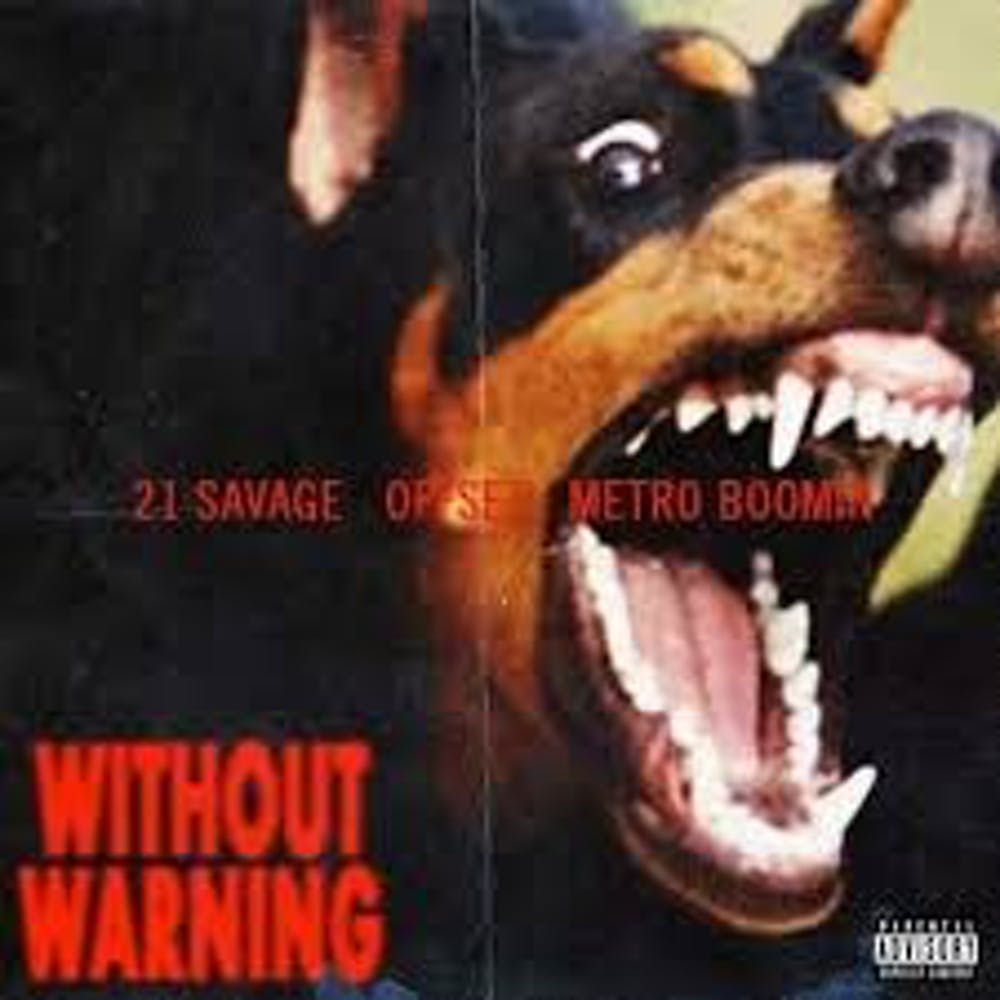 21 Savage, offset, metro boomin collaboration is a hit