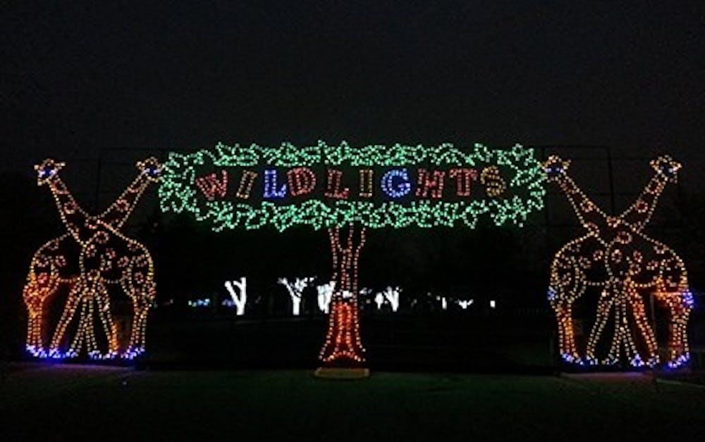 """Detroit Zoo to display """"WIld Lights"""" exhbit"""