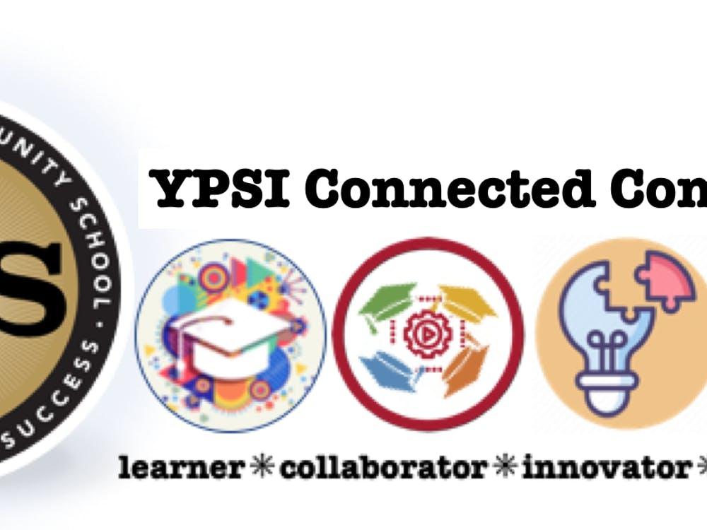 The official logo of Ypsilanti Community Connected Schools and Mrs. Gail Sykes class that continued their education remotely through the pandemic.