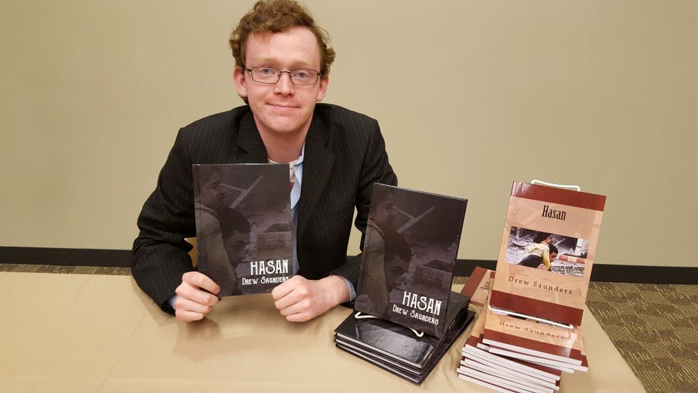 Journalism student becomes published author