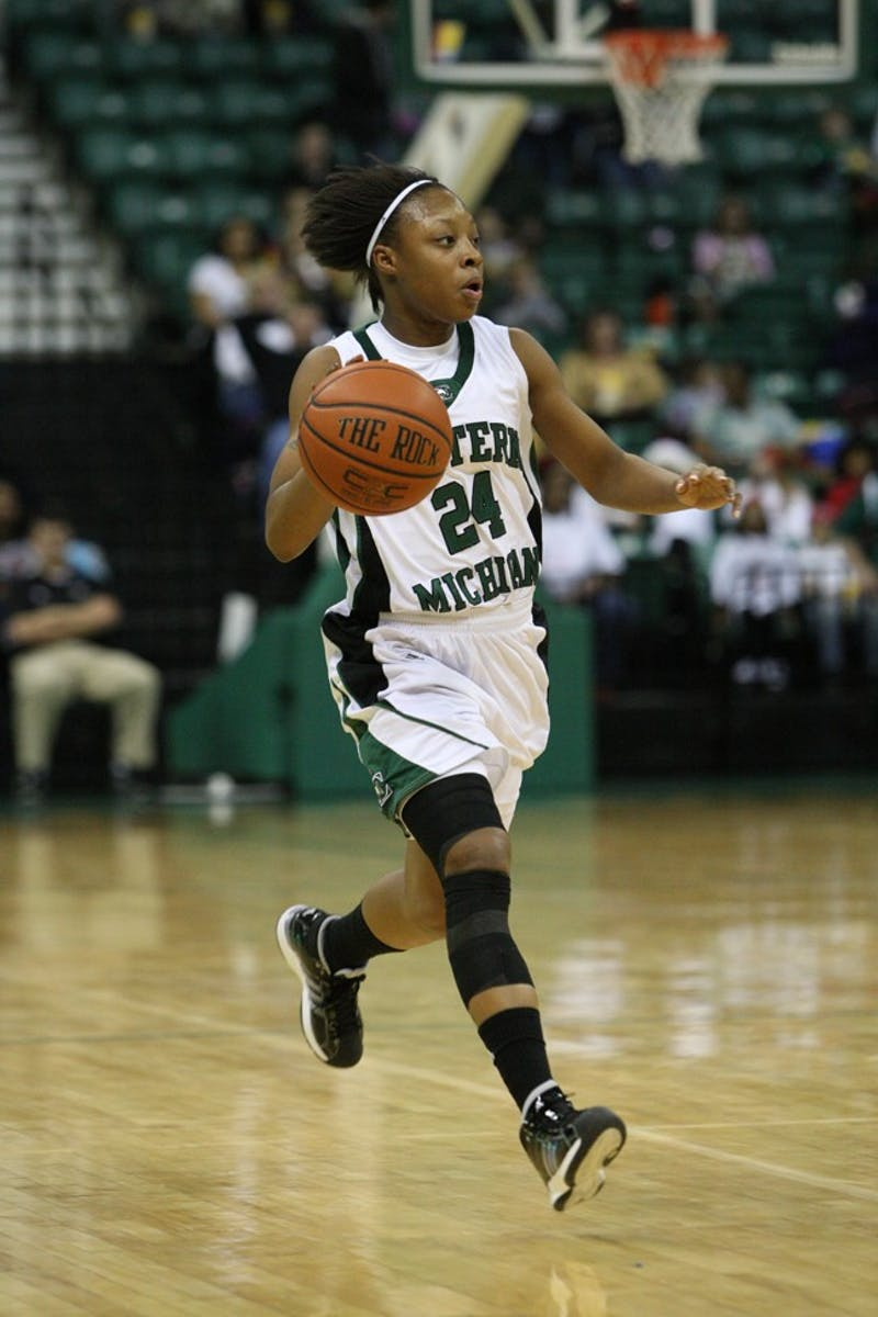 Tavelyn James, who led all scorers with 22 points, did her best to get the Eagles back in the game with 12 second-half points that saw the Eagles get within 15 points with just less than 14 minutes left. Their next game is against the Bobcats at Ohio University on Wednesday.
