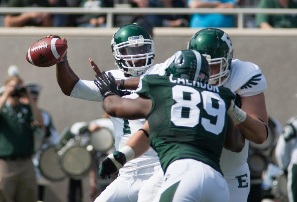 5 things to take away from EMU's 73-14 loss to Michigan State