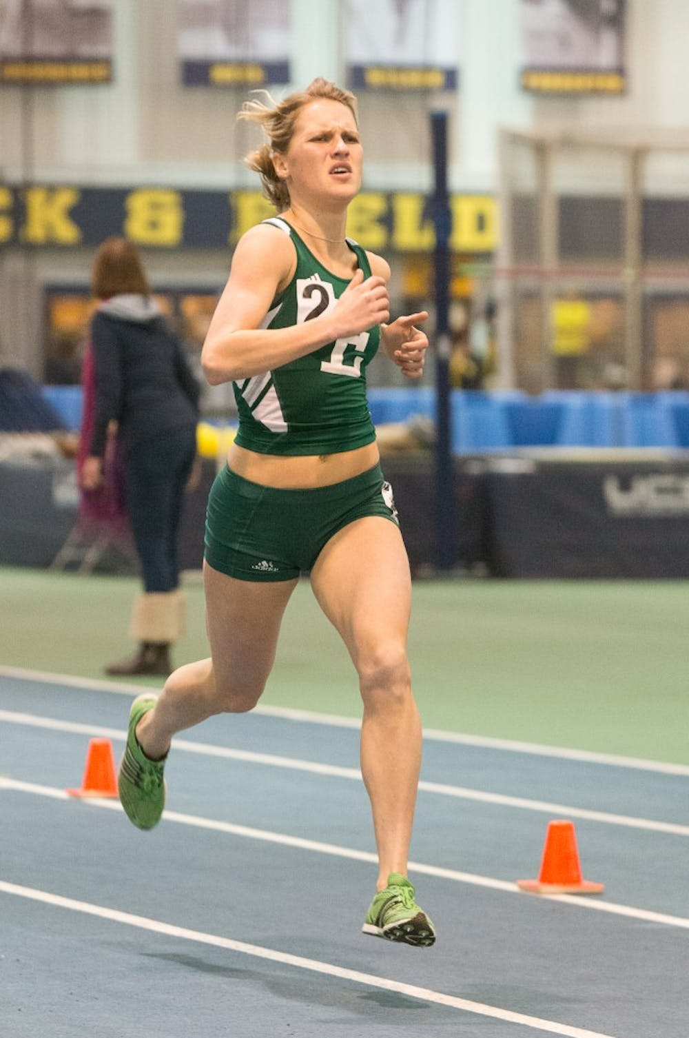 Women's track team finishes strong at Simmons