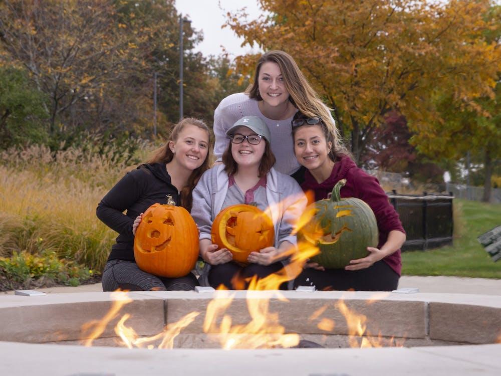 5th annual EMU pumpkin carving