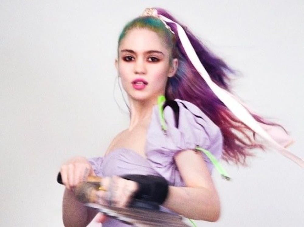 'Violence' – Grimes music video review