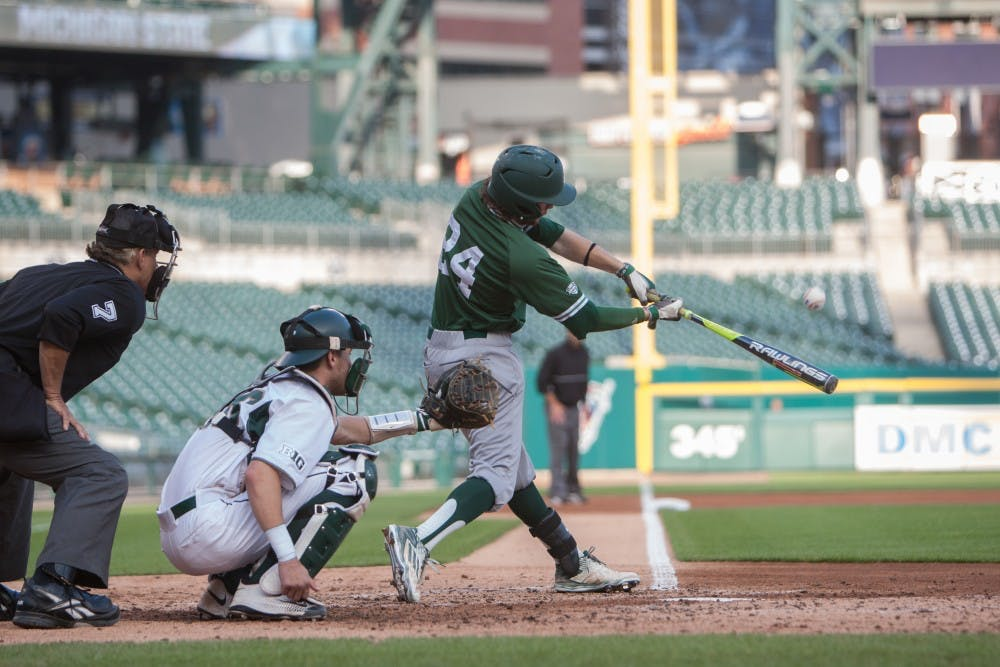 Eagles fall to MSU in game at Comerica Park