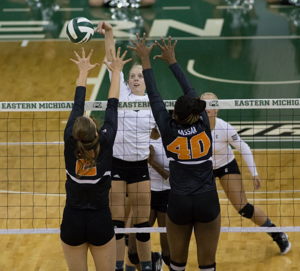 Jones brings high energy to bear in volleyball
