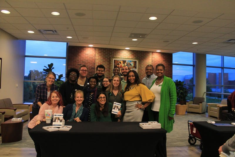Author of What the Eyes Don't See holds book signing at EMU