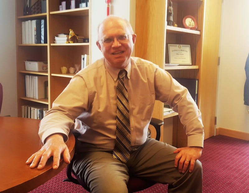 Michael Sayler, Dean of the College of Education at Eastern Michigan University