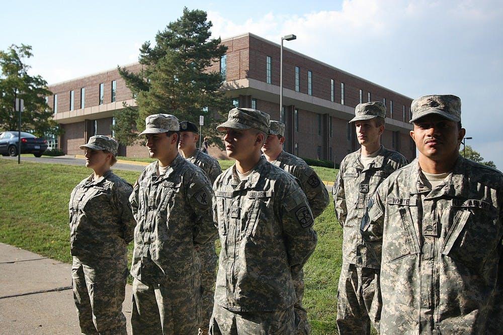 EMU recognized for ROTC program