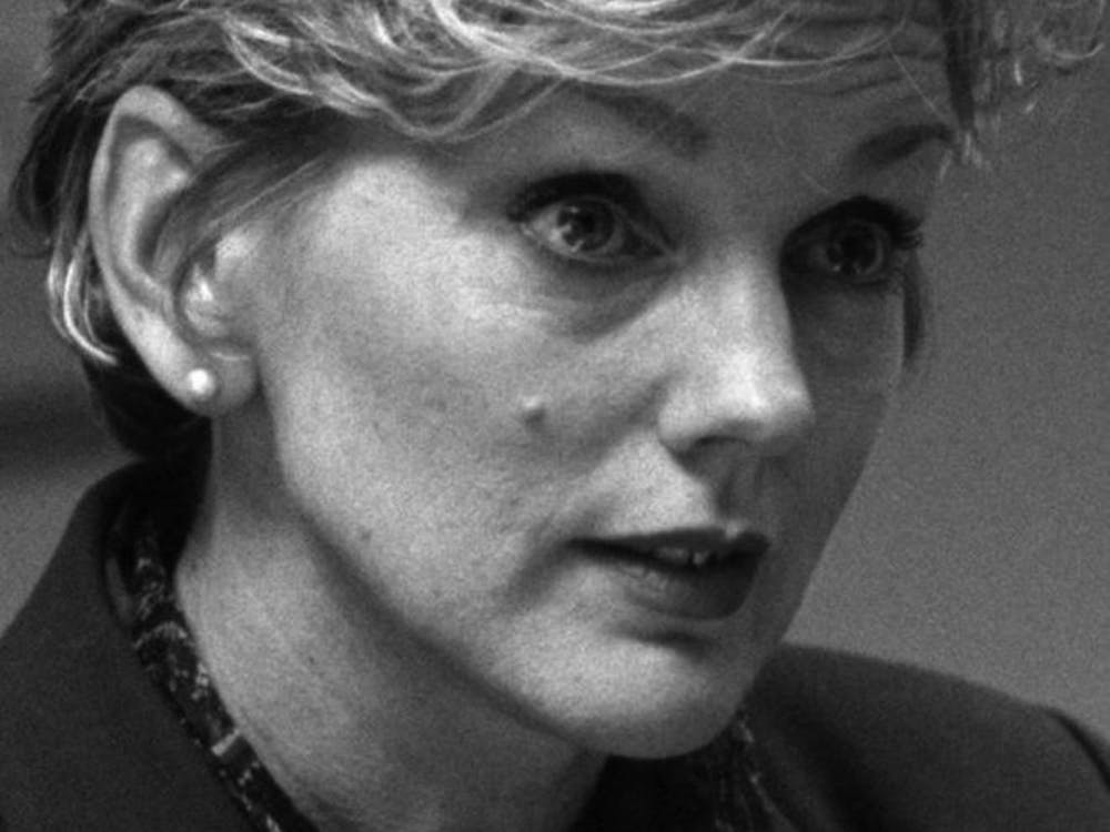 KRT US NEWS STORY SLUGGED: GRANHOLM KRT FILE PHOTO BY WILLIAM ARCHIE/DETROIT FREE PRESS (July 24) Jennifer Granholm, who is running for governor of Michigan, is shown in an interview in March 2002, in Detroit, Michigan. (Diversity) (DE) NC KD 2002 (Vert) (gsb)