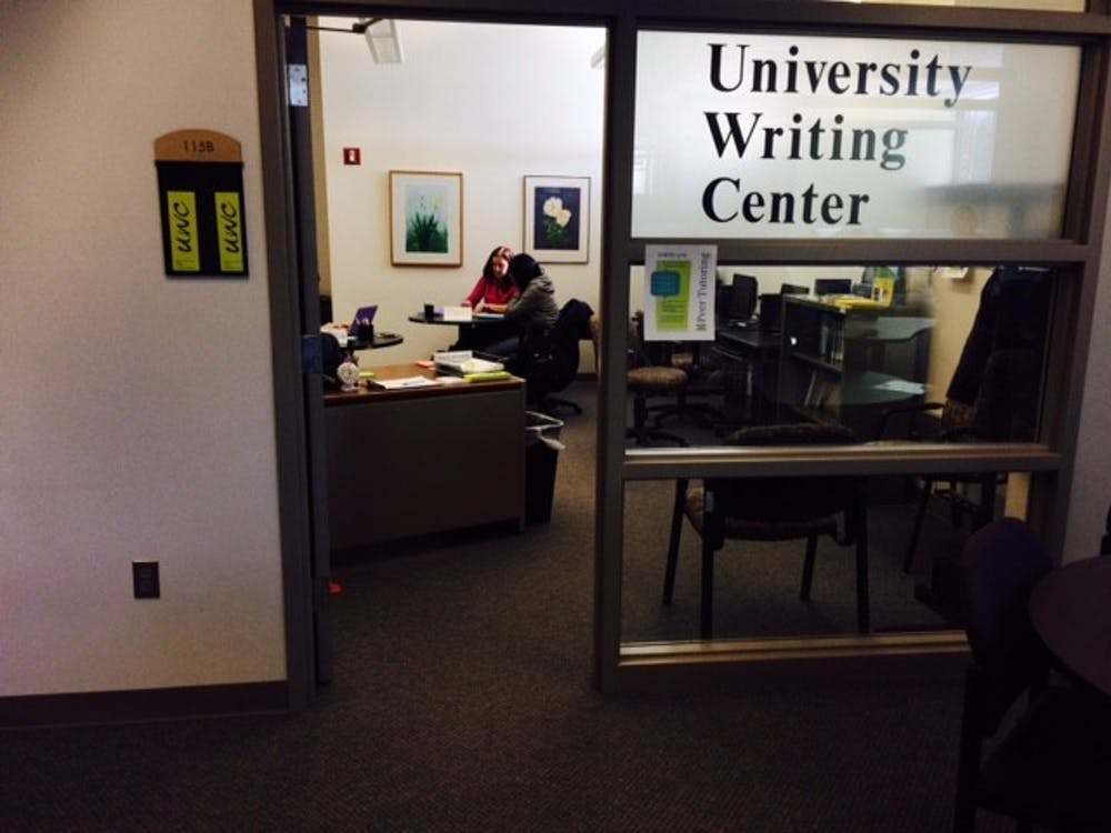 Writing Center offers students help with their writing