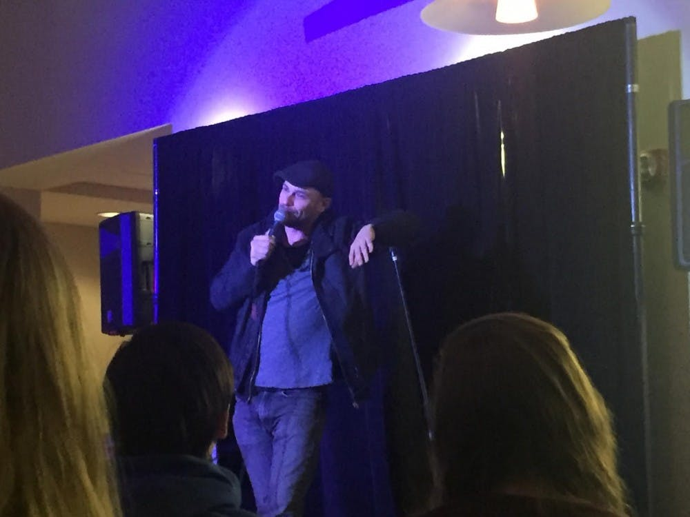 Campus Life hosts Comedy Night with Mike Stanley