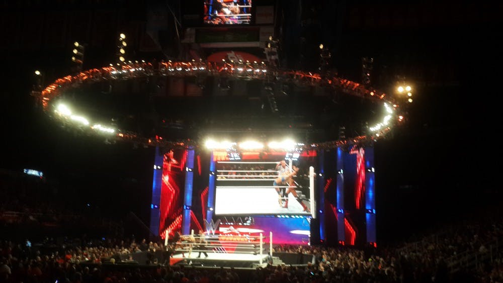Entertain your Mondays with WWE