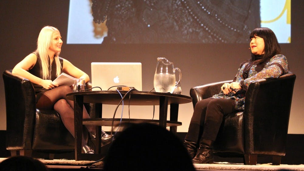 Anna Sui talks fashion, success at Michigan Theater