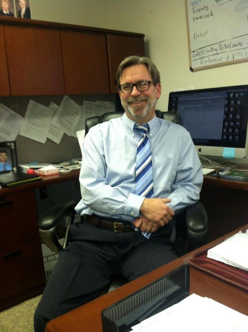 Executive Director of Media Relations Geoff Larcom
