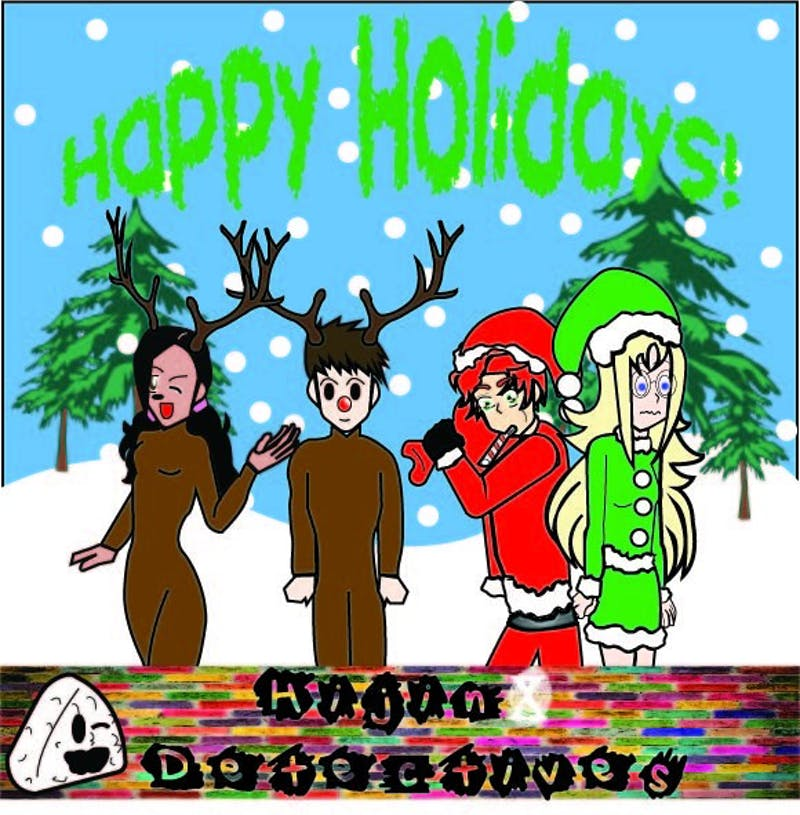 Happy Holidays from the little sleuths of Hijinx Detectives! Stay warm and stay perceptive!