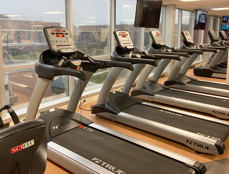 The renovations on the Olds-Robb Rec/IM Building offer updated equipment and visual appeal.