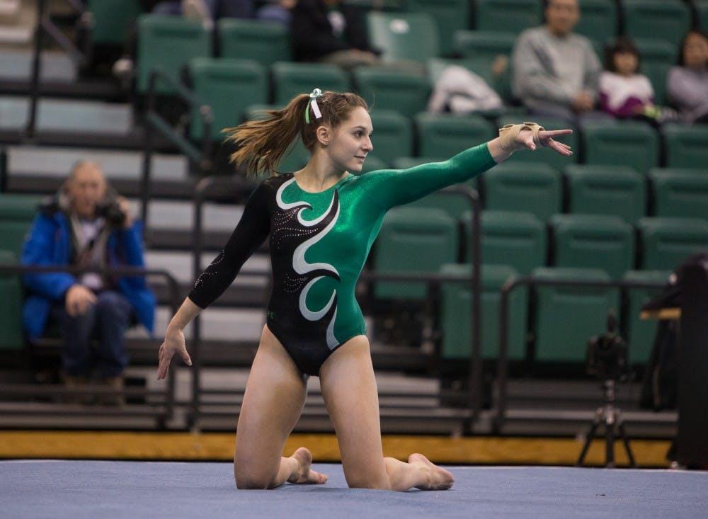 EMU Gymnastics vaults into the top 25 nationally