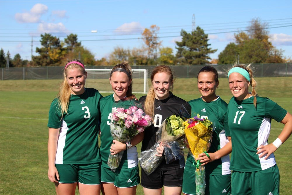 Senior day ends in draw, MAC Tournament hopes bleak