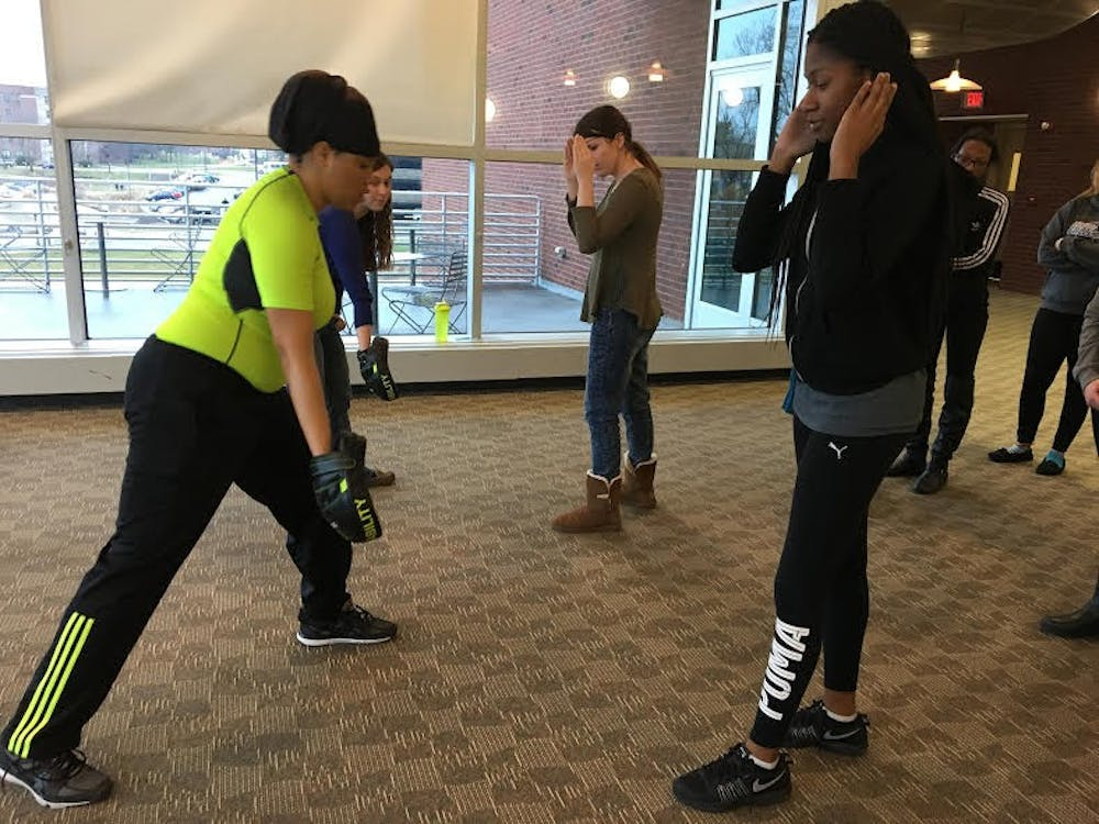 "Women and Gender Studies Department hosts ""anti-hate crime"" self defense class"