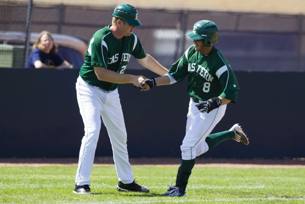 Catcher loves that EMU program really competes