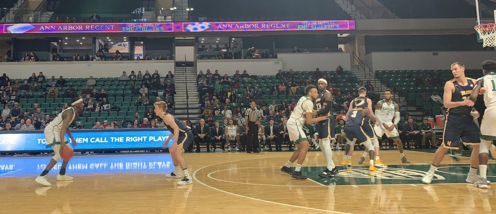 EMU Men's Basketball Scores 22 Unanswered, Upsets Toledo