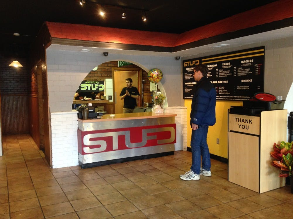 STUFD offers quick, behind-the-counter service.