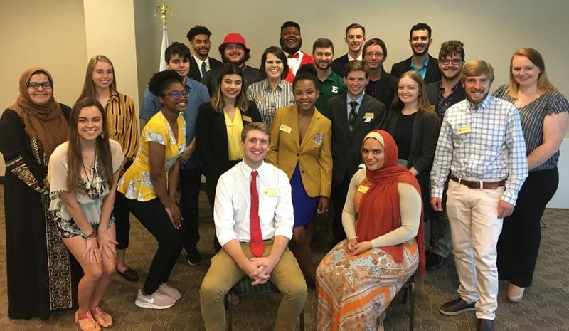 EMU Student Government held its Summer Summit Orientation Meeting on Sept. 3.
