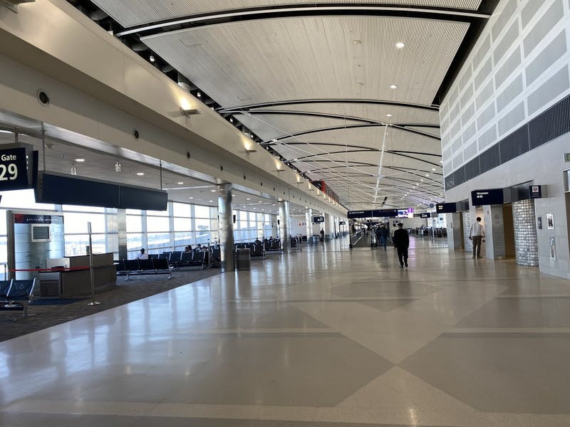 Detroit Metro Airport is impacted by COVID-19
