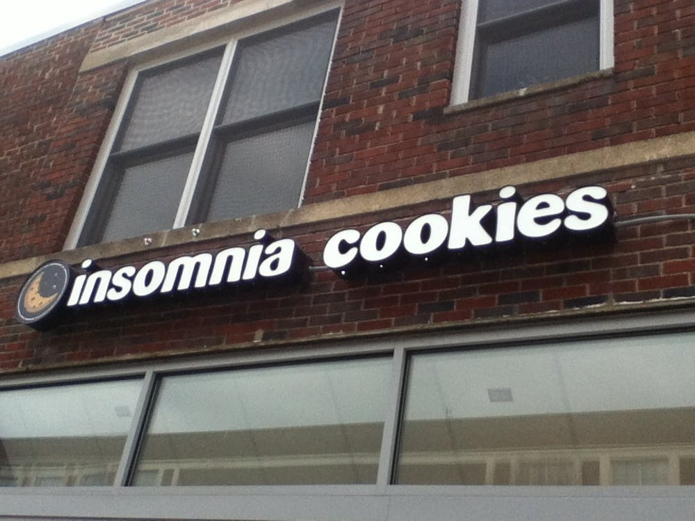 Insomia Cookies can bring cookies to students in the middle of the night.