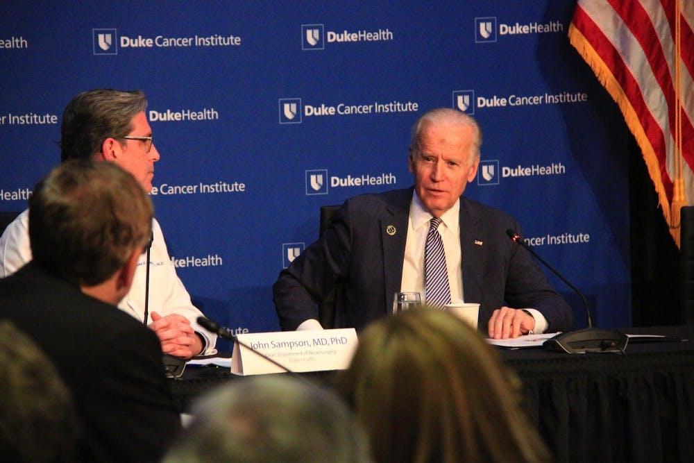 Vice President Joe Biden champions fight for curing cancer - Elon