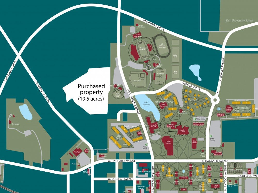 Large Campus Map Sign-FINAL - Elon News Network