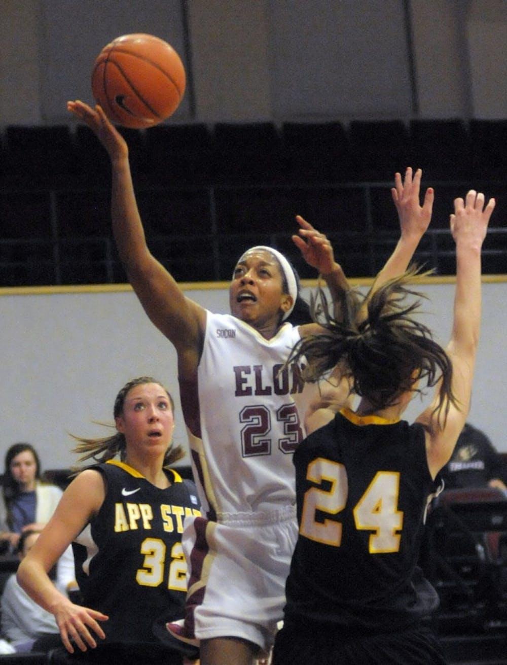 Photo Gallery Elon Women S Basketball Vs Appalachian State Feb 25 Elon News Network