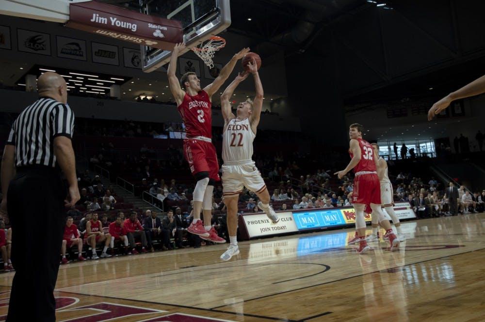 online store ce92d 0a852 Men's basketball falls to Boston University - Elon News Network