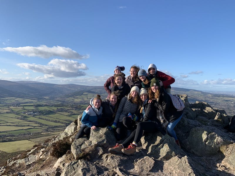 Students studying abroad in Ireland in Spring of 2020 were one of the last groups to do so without COVID restrictions.