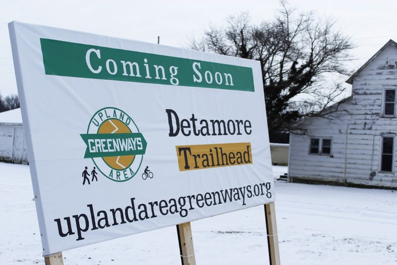 Upland awaits the arrival of Detamore Trailhead. (Photograph by Riley Hochstetler)