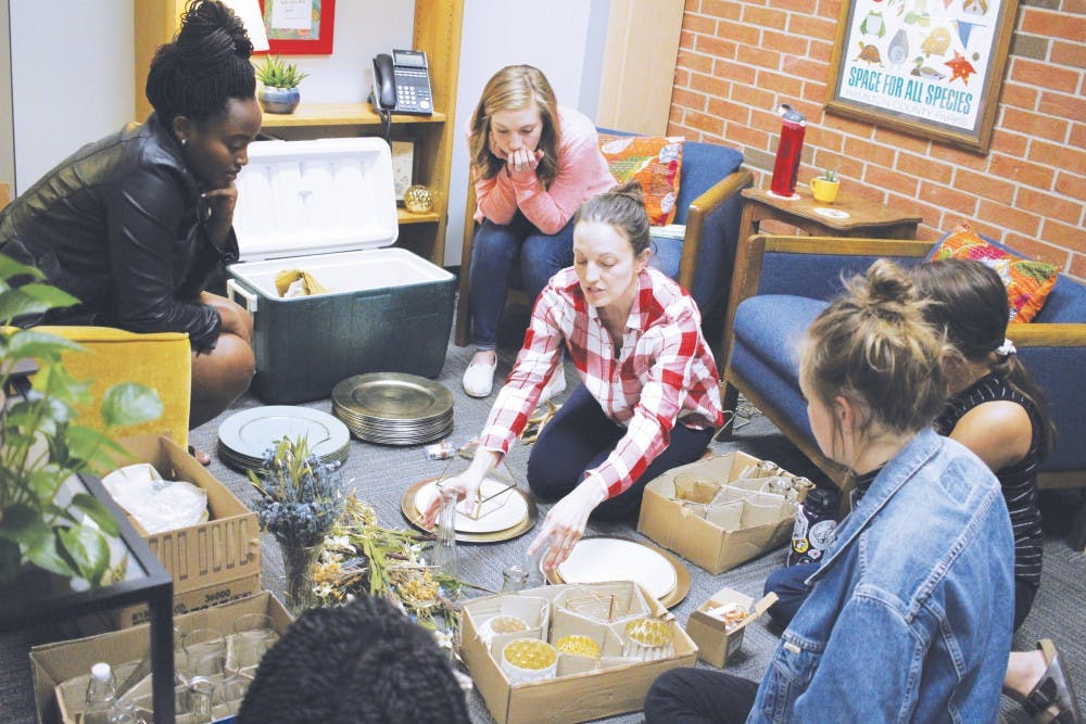 Etiquette Dinner teaches students table manners