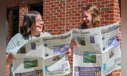 Seniors Holly Gaskill and Ellie Tiemens take on the positions of editors-in-chief together.