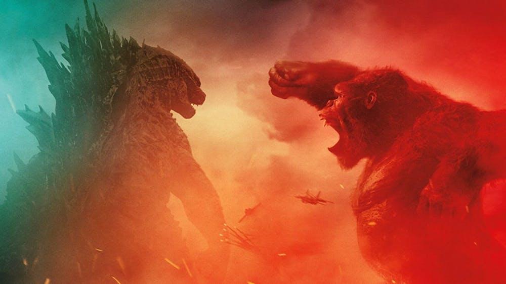 "Monster icons clash in ""Godzilla vs. Kong"""