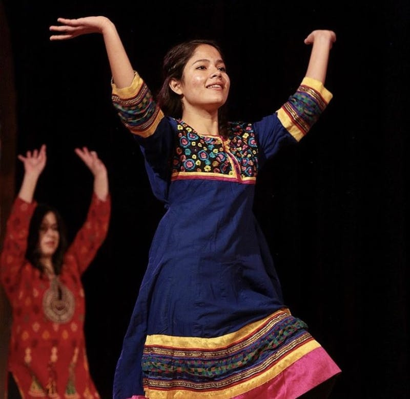 MECA students showcase their talents while highlighting their cultures at the 2020 Mosaic Night, hosted on Nov. 5. (Photo provided by Taylor University).