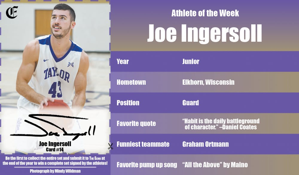 Athlete of the Week – Joe Ingersoll