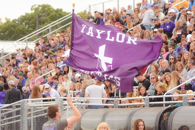 Taylor University football will be playing against Marian University at 1 p.m. on Saturday, Oct. 13.
