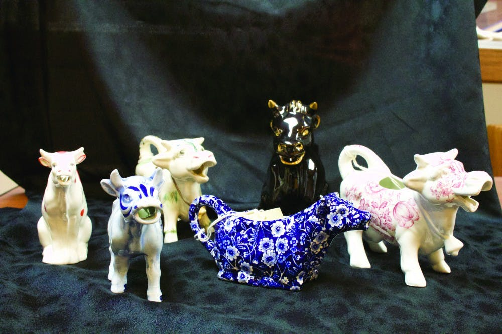 From the archives: Cow creamer collection