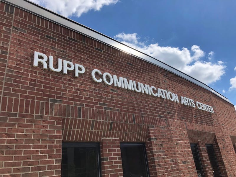 Rupp Communication Arts Center's film department proudly boasts its record-breaking number of 39 enrolled majors. The program currently supports 110 majors.