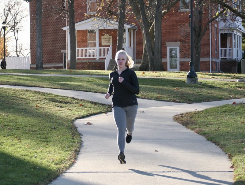 Emma Brosious demonstrates her running abilities in light of the introduction of the new marathon class.