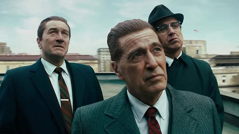 Robert DeNiro and Joe Pesci reunite in Martin Scorsese's newest movie.