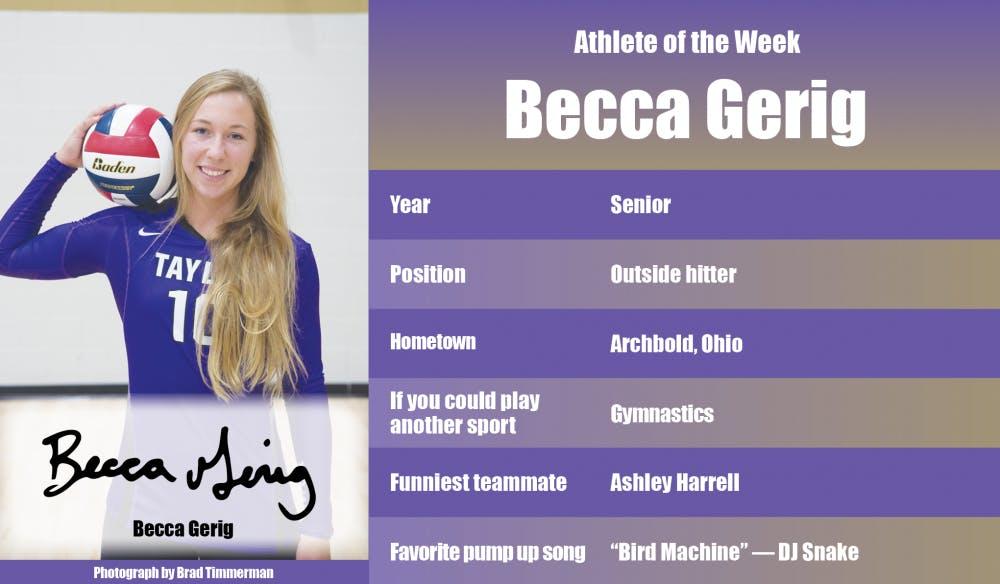 Athlete of the Week – Becca Gerig