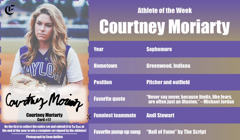 Athlete of the Week – Courtney Moriarty